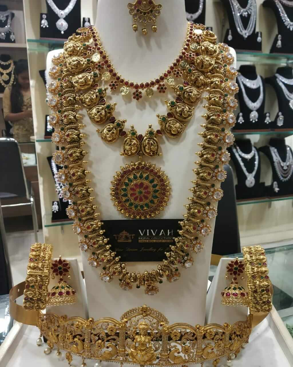 reception Bridal jewellery for rent in anna nagar