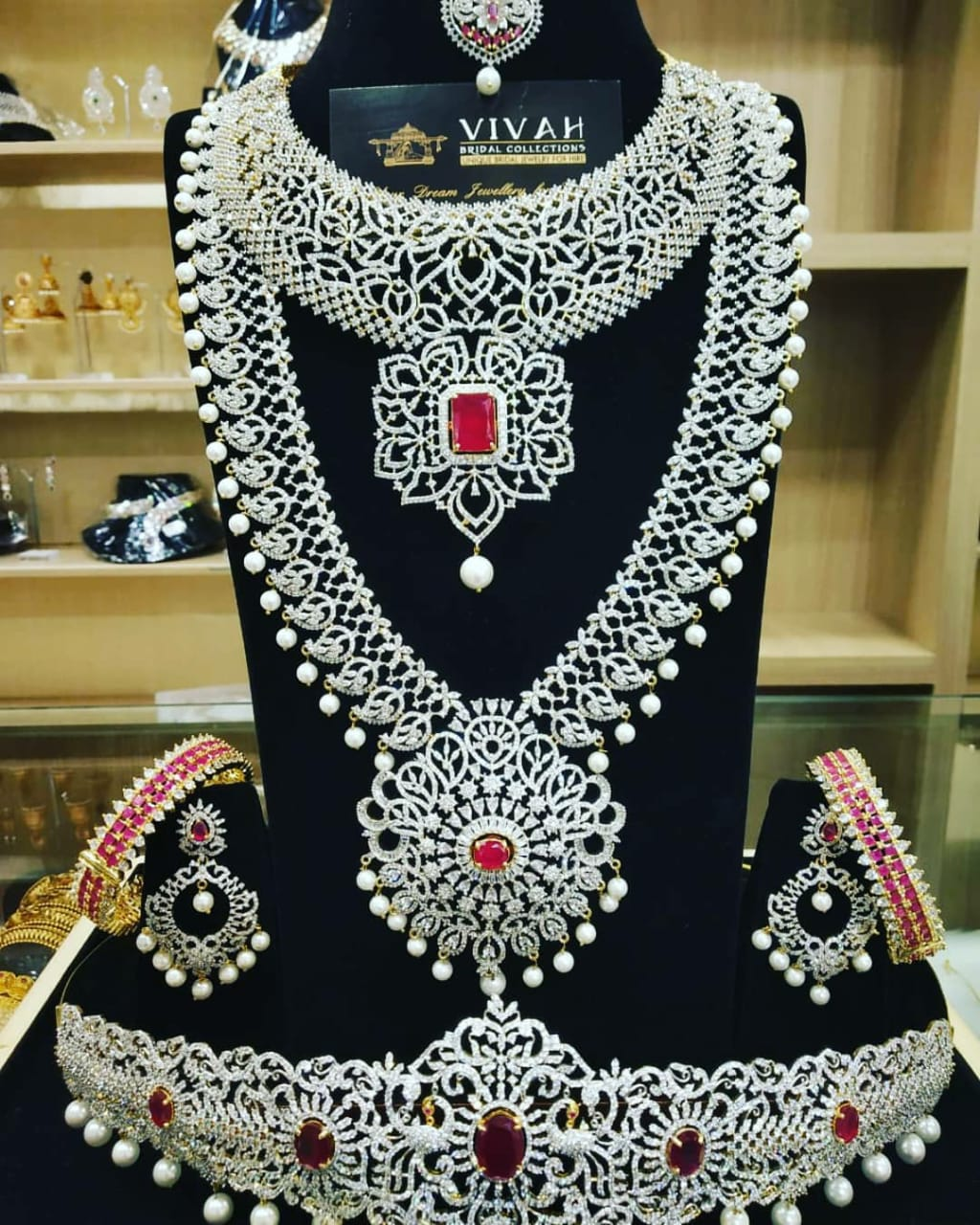 antique bridal jewellery for rent in anna nagar