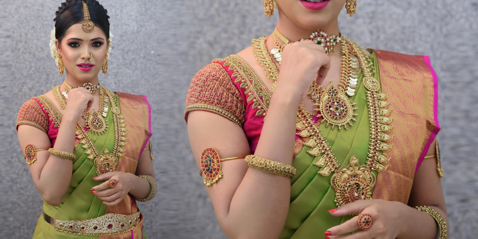 bridal reception jewellery for rent in anna nagar