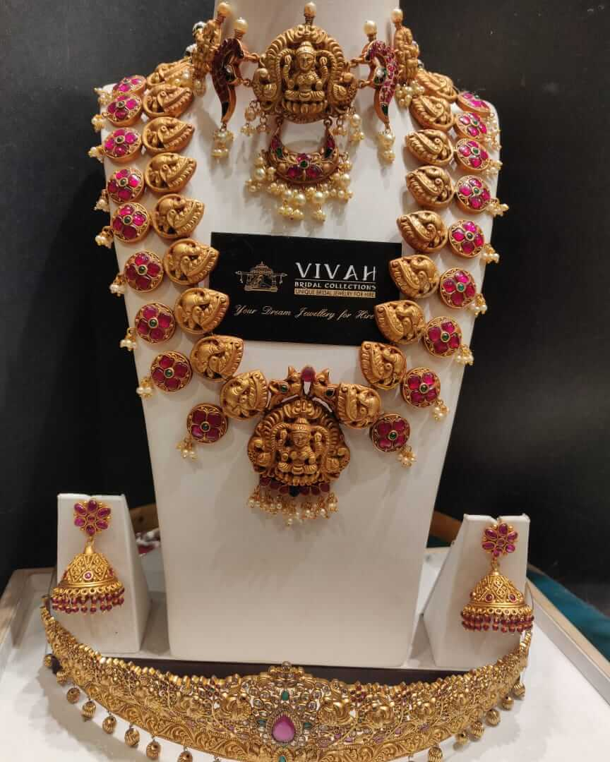 bridal jewellery Collections for rent in Perumbakkam